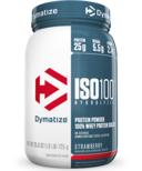 Dymatize Nutrition ISO100 Hydrolyzed Whey Protein Strawberry