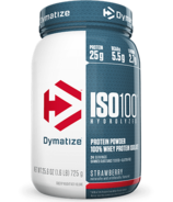 Dymatize Nutrition ISO100 Hydrolyzed Whey Protein Strawberry