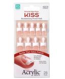 Kiss Salon Acrylic French Halo Effect