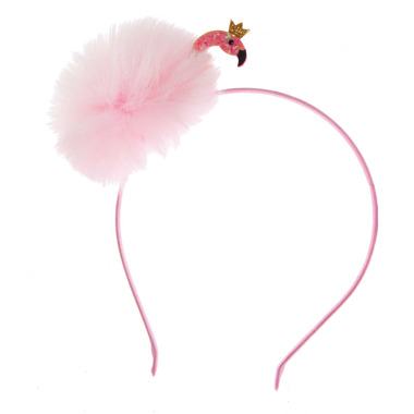 Great Pretenders Fun Flamingo Fluff Headband