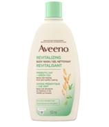 Aveeno Revitalizing Green Tea Body Wash with Prebiotic Oat