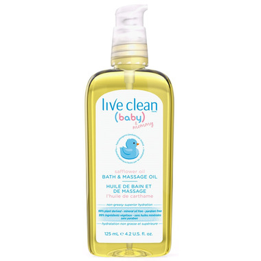 Live Clean Baby & Mommy Massage Oil
