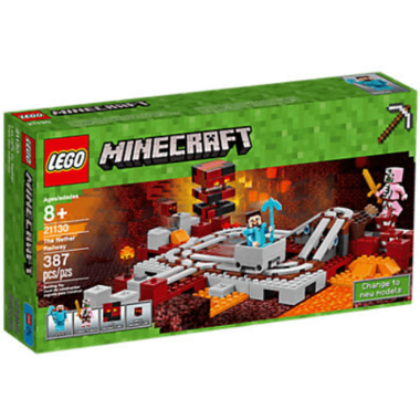 LEGO Minecraft The Nether Railway