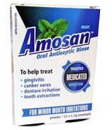 Amosan Oral Antiseptic Rinse Mint