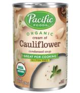 Soupe condensée crème de chou-fleur biologique Pacific Foods