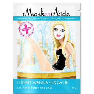 MaskerAide I Don\'t Wanna Grow Up Hydrating Facial Sheet Mask