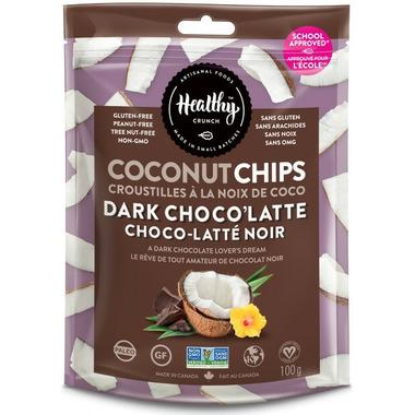 Healthy Crunch Dark Choco\'Latte Coconut Chips