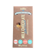 KZ Clean Eating Salted Caramel Milk Chocolate Bar