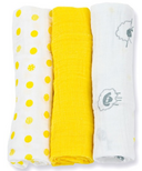 Lulujo Baby Mini Muslin Cotton Cloths