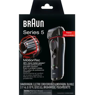 Braun Series 5 5030s Shaver Black