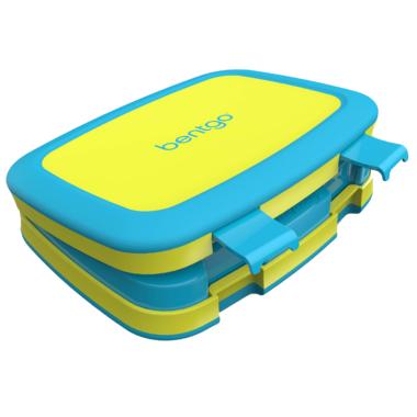 Bentgo Brights Children\'s Bento Lunch Box Citrus Yellow