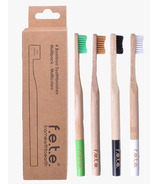 f.e.t.e. Bamboo Toothbrush Multi Pack Firm