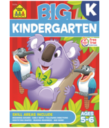 School Zone Big Kindergarten Book