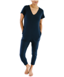 Smash + Tess The Sunday Romper Naturally Navy