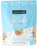 Snack Conscious Snack Bomb Peanut Butter Coconut Energy Balls