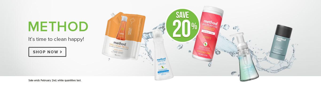 Save 20% Off Method