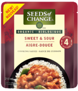 Seeds of Change Organic Sweet & Sour Cooking Sauce