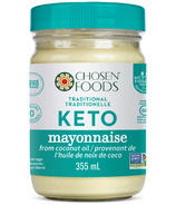 Chosen Foods Tradional Keto Mayo from Coconut Oil