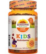 Gommes multi vitamines pour enfants de Sundown Naturals