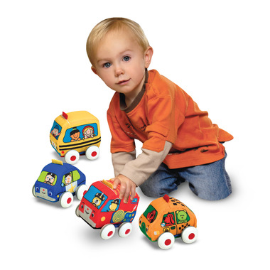 Melissa & Doug K\'s Kids Pull-Back Vehicles