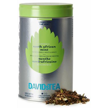 DAVIDsTEA Iconic Tin Organic North African Mint