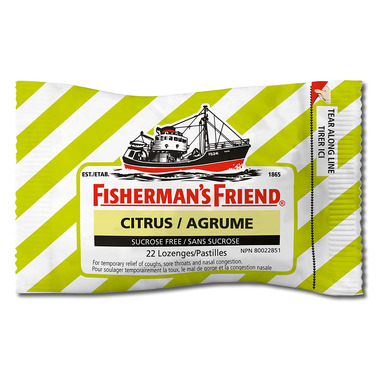 Fisherman\'s Friend Citrus Lozenges