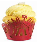 Circus Cupcake Wraps