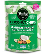 Healthy Crunch Garden Ranch Coconut Chips