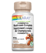 Solaray Organically Grown Fermented Mushroom Complete 600mg