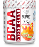 Perfect Sports BCAA HYPER CLEAR Intense Drink Mix Peach Rings