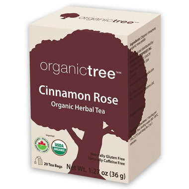 OrganicTree Organic Cinnamon Rose Tea