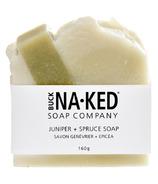 Buck Naked Soap Company Juniper & Spruce Soap