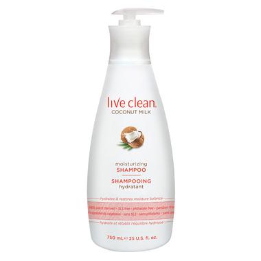 Live Clean Coconut Milk Shampoo