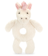 Jellycat Bashful Unicorn Ring Rattle