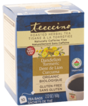 Teeccino Dandelion Turmeric Roasted Herbal Tea
