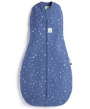 ergoPouch Baby Organic Cotton + Bamboo Cocoon Swaddle Bag Night Sky 1.0 TOG