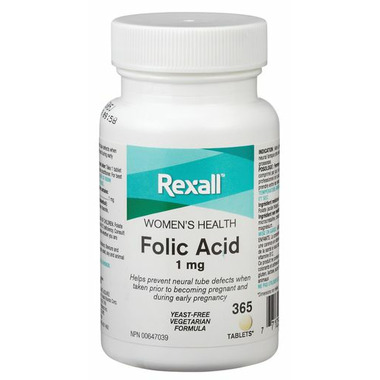 Rexall Folic Acid