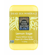 One With Nature Lemon Sage Bar Soap