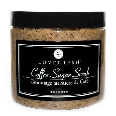 Lovefresh Coffee Sugar Scrub Vanilla Bean