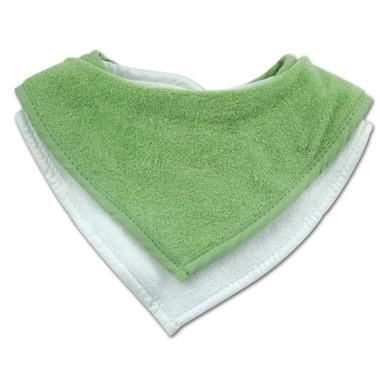 Bumkins Waterproof Terry Bandana Bib Green
