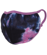 iScream Indigo and Pink Tie Dye Mask Child Size
