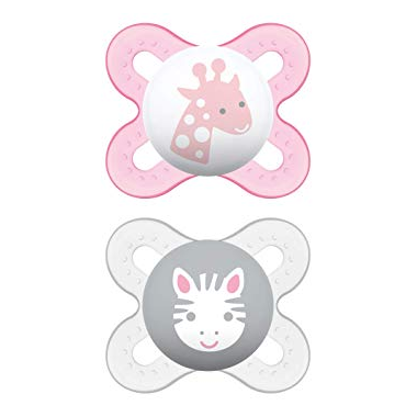 Mam Silicone Start Pacifier Pink and Purple