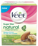 Veet Natural Inspirations Warm Sugar Wax for Sensitive Skin