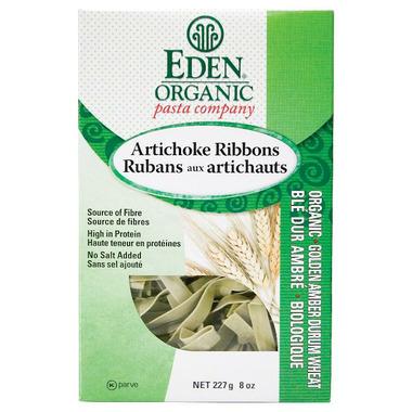 Eden Organic Golden Amber Durum Artichoke Ribbon Pasta