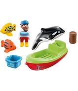 Playmobil 1.2.3. Pêcheur avec bateau