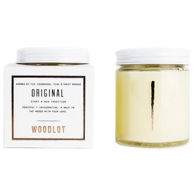 Woodlot Original Coconut Wax Candle