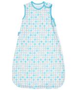 Grobag Baby Sleep Bag Lightweave 1.0 Tog Blue Beach Balls
