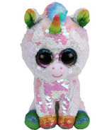 Ty Flippables Pixy the Sequin White Unicorn Regular