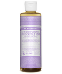 Dr. Bronner's Organic Pure Castile Liquid Soap Lavender 8 Oz