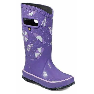 Bogs Rain Boot Umbrellas Violet Multi